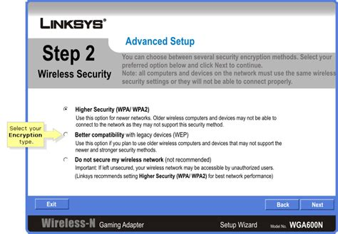 Linksys Official Support Connecting A Wga600n To A Linksys Official Support Configuring The Media