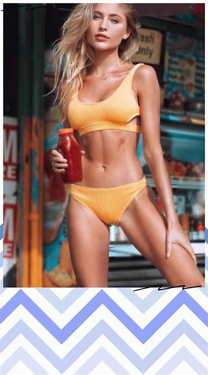 Swimwear Bikini Swimsuit Yellow Cupshe Beachwear Bathing