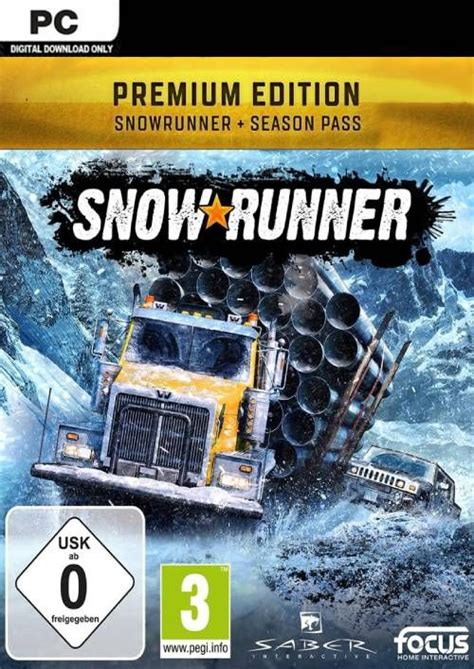 Carry heavy hauls and extreme payloads by overcoming mud, torrential waters, snow, and frozen lakes for huge rewards. SnowRunner: Premium Edition PC Digital Download £32.99 - Frugal Gaming