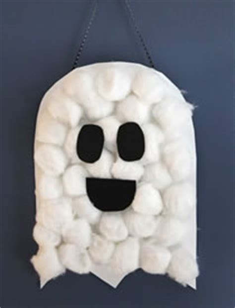 cotton ghost craft for 6 easy crafts to use in your lesson esl 7525