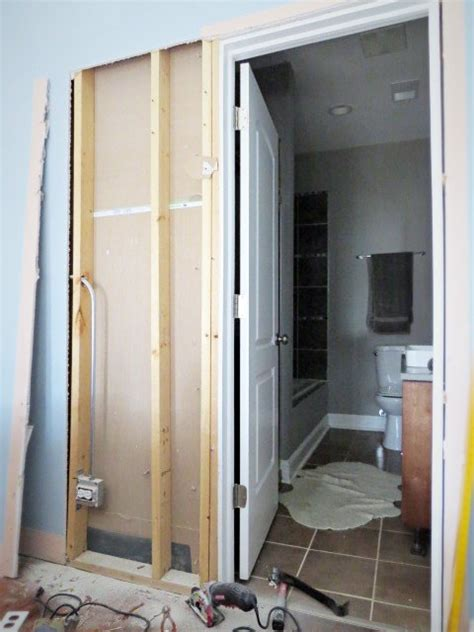 pocket door installation how to destroy your fears install a pocket door hometalk