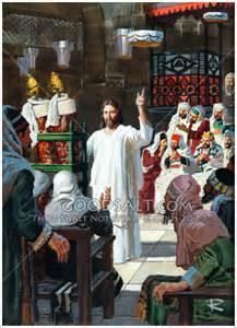 Jesus Teaching Synagogue