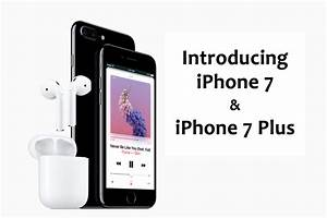 Apple iPhone 7 & iPhone 7 Plus Offer Beefed-up Specs