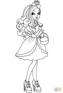 high apple coloring page  printable