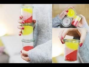 Duftkerzen Im Glas : diy bunte duftkerzen im glas selber machen youtube ~ Markanthonyermac.com Haus und Dekorationen
