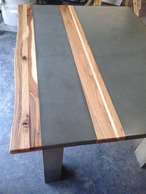 Esszimmer Le Holz Beton by Handgefertigt Aus Beton Holz Und Stahl Das Esszimmer