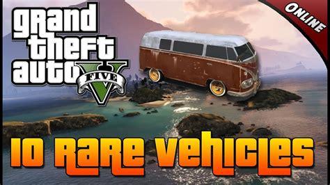 grand theft auto   rare vehicles   secret