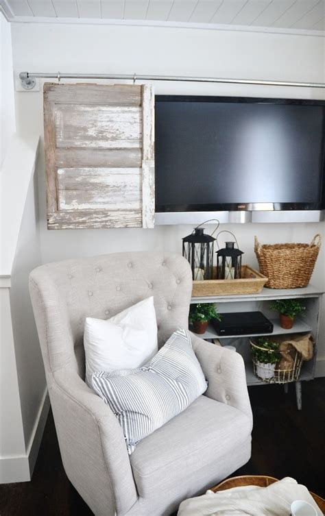 Sliding Barn Door Tv Cover by Industrial Pipe Sliding Barn Door Tv Cover Liz