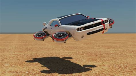 aiden mockridge ba game art completed future flying car