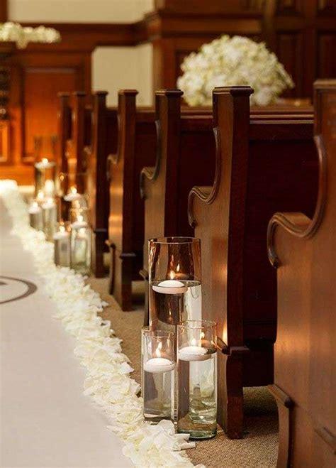 addobbi matrimonio senza fiori decorazioni matrimonio in chiesa foto design mag