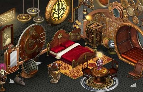 steampunk bedroom decorating ideas   home