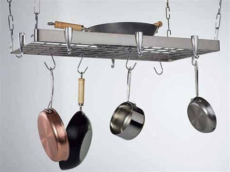 Stainless Steel Hanging Pot Rack