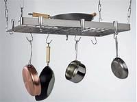 pot and pan hanging rack Stainless Steel Hanging Pot Rack