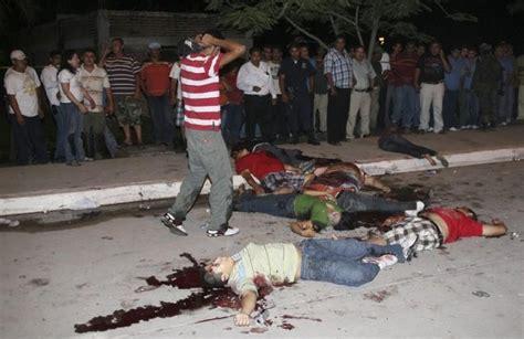 fin de semana sangriento en mexico  muertos en tres dias