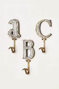 anthropologie home gifts popsugar moms With marquee letter hook