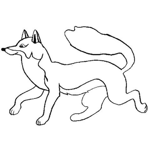 dessin de renard facile coloriage renard facile dessin gratuit 224 imprimer