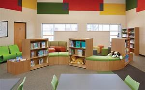 Library decorating ideas abraham lincoln elementary school for Interior decorating school dallas