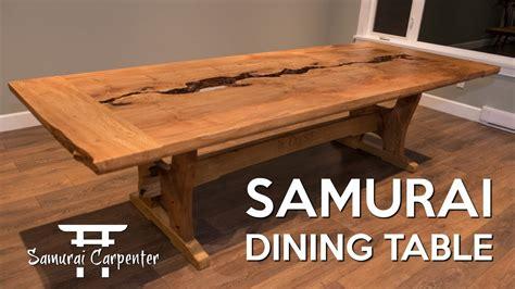 building  dining table start  finish  samurai