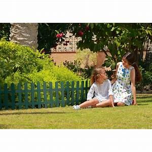 Bordure Plastique Jardin : la bordure de jardin en plastique vert h 40 cm de jardin ~ Premium-room.com Idées de Décoration