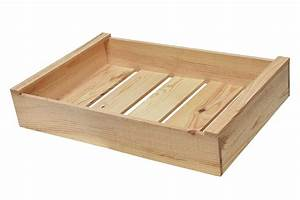 Caisse En Bois : caisse bois 1 niveau alv ~ Nature-et-papiers.com Idées de Décoration