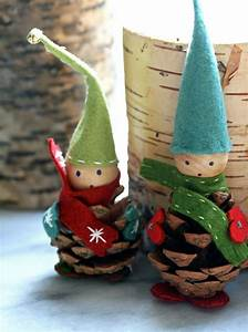 Filz Wichtel Basteln : diese wichtel besitzen handschuhe und schuhe weihnachten wichtel basteln basteln ~ Pilothousefishingboats.com Haus und Dekorationen