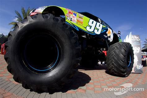 next monster truck show aflac press conference the aflac monster truck at daytona 500