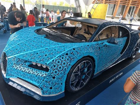 Designer aurelien rouffiange and the team had just completed the 1:8 scale model of the chiron and began to debate what the ultimate challenge for the lego technic building. Life-Sized LEGO Bugatti Chiron Showing in Paris Motor Show this October