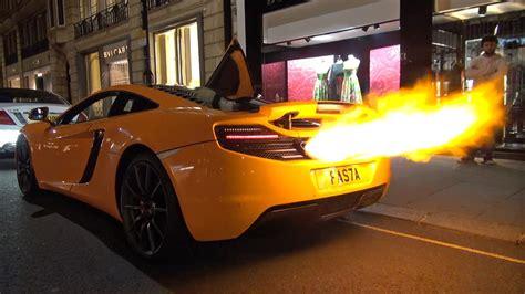 Nsx Flammenwerfer by Mclaren 12c Shooting Flames Melted Bumper