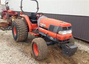 1994 Kubota Wsm L2900  L3300  L3600  L4200 Tractor Service