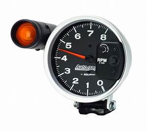 Auto Meter 233905 5 U0026 39  U0026 39  Auto Gage Monster Tach W   Shift Lite