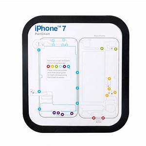 Magnetic Screw Keeper Memory Chart Mat For Iphone 6 6s Plus 7 7 Plus Teardown Repair Guide Pad