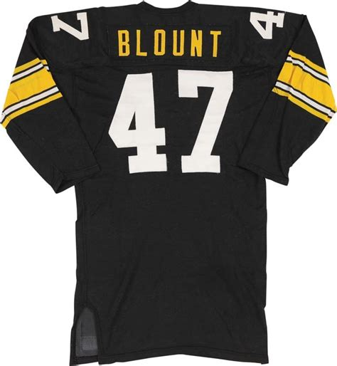 1976 Mel Blount Game Worn Pittsburgh Steelers Jersey