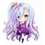 Shiro Chibi Anime Kawaii Transparent Purple Fate