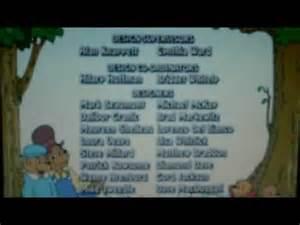 1980's Berenstain Bears Cartoon End Credits Doovi