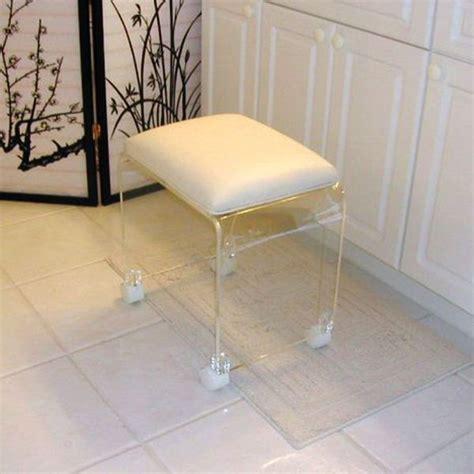 custom clear acrylic chair with casters buy clear