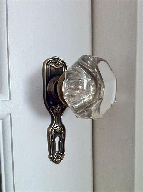 vintage door knobs how to install an antique door knob