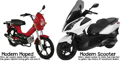 A Brief History Of The Difference Of Mopeds And Scooters