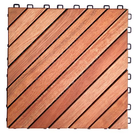 vifah eucalyptus 12 slat interlocking wood