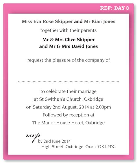 Formal Wedding Invitation Wording  Fotolipcom Rich Image