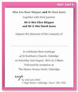 wedding evening invitation wording funny yaseen for With examples of formal wedding invitations wording