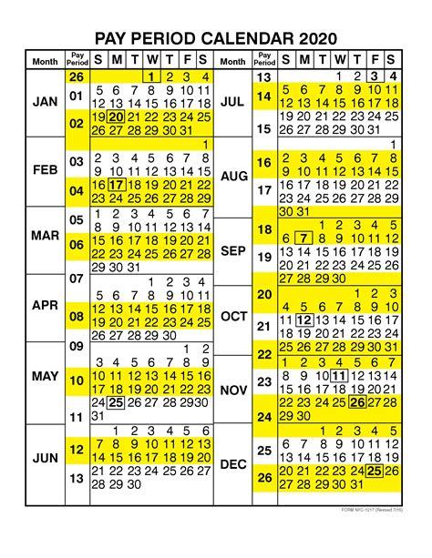 federal pay period calendar  template calendar design