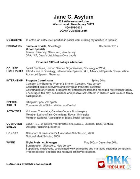 New Grad Nursing Resume Clinical Experience by New Grad Resume New Graduate Resume Resumes For