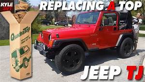 How To Replace Soft Top On A Jeep Wrangler Tj  97