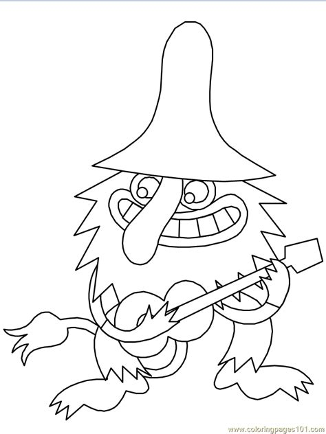cartoon troll pictures az coloring pages