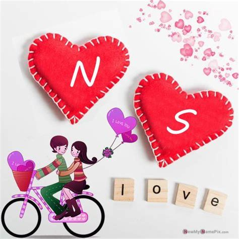 tons  heart couple alphabet  dp create  image