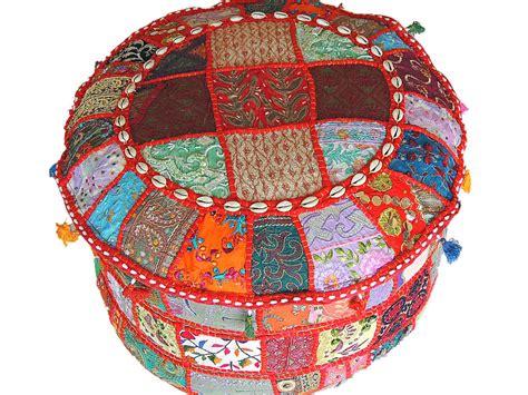 Multicolor Patchwork Big Round