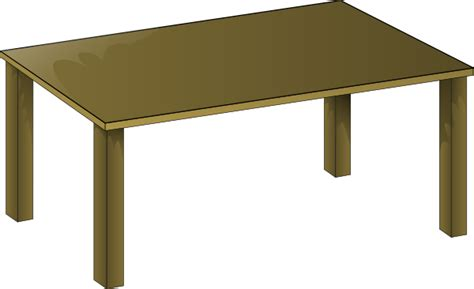 e table meja laptop wooden table clip at clker vector clip