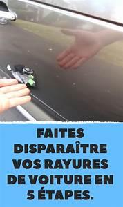 Attenuer Rayure Voiture : faites dispara tre vos rayures de voiture en 5 tapes voitures pinterest rayures de ~ Melissatoandfro.com Idées de Décoration
