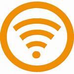 Wifi Icon Yellow Wi Fi Transparent Wireless