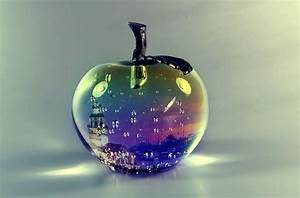 Glass Apple Wallpapers